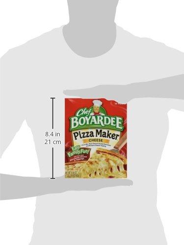 Chef Boyardee, Cheese Pizza Kit, Makes 2 Pizzas, 31.85oz Box (Pack of 4) by Chef Boyardee