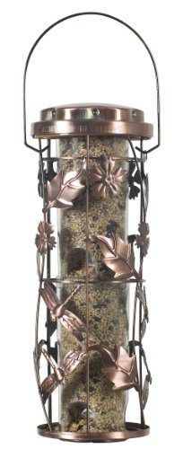 Perky-Pet 550 Copper Garden Wild Bird feeder