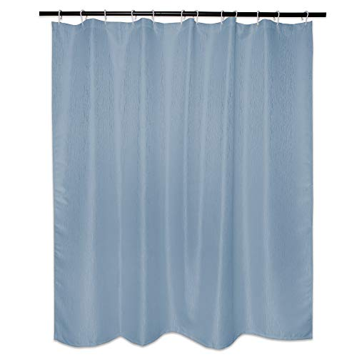 DII Everyday 100% Polyester Bath Textured Shower Curtains 72x72