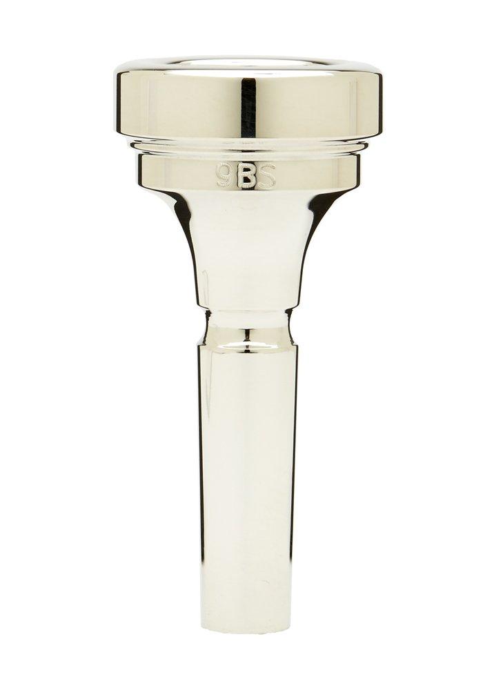 Denis Wick DW5880-9BS Silver-Plated Medium Bore Trombone Mouthpiece
