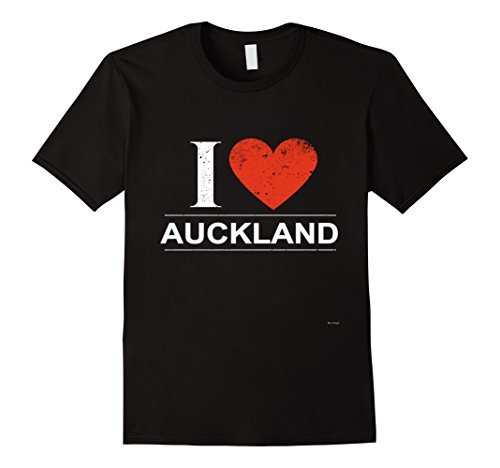Mens I Love Auckland in New Zealand Tee Shirt 3XL - Shops Auckland In