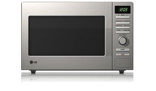 LG MS1987U, 1200 W, 230 V AC / 50 Hz, Acero inoxidable, 455 x 284 ...