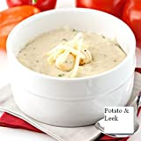 Powdered Soup Mix in Resealable Plastic Jug (Creamy Potato and (&) Leek Soup, 2 LB)