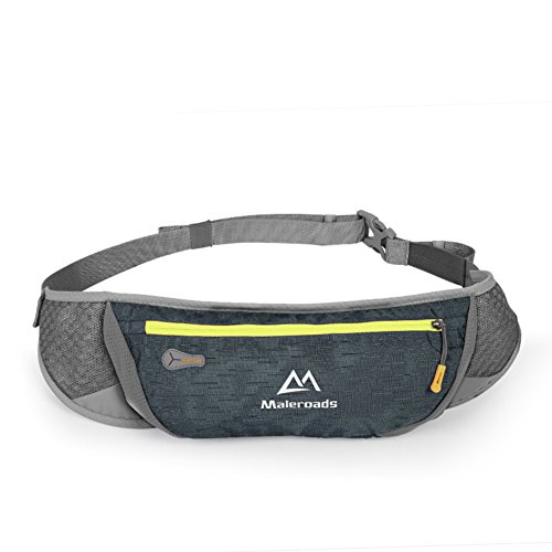 Ejecución de los bolsillos de los deportes/Teléfono móvil/Maratón cross país ejecutando Pocket-púrpura gris