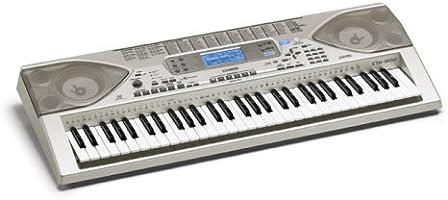 Casio CTK-900 portátil Teclado – 61 Teclado de tamaño Completo con tecnología Avanzada de Sonidos y Almacenamiento con ZPI: Amazon.es: Informática