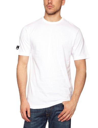 Hombre Para L Talla Blanco Helly Hansen 001 Camiseta Rojo Color White Crew ntaIq4