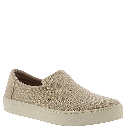 Toms Lomas Mens Slip On Natural Heritage Canvas