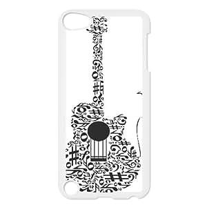 Custom Guitar Pattern Pattern Hard Plastic Back Phone Case for Ipod Touch Case 5 TSL152449
