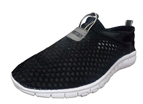 toosbuy-womens-aqua-water-shoeswalking-casual-comfort-slip-on-lightweight-fashion-sneakers-black-36