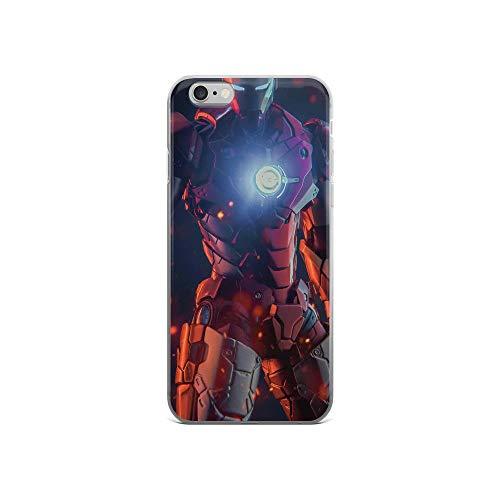Tony Ironman Stark Avengerss Superhero Stan-lee Movie Comic News Anti-Scratch Shockproof Case for iPhone 6/6s