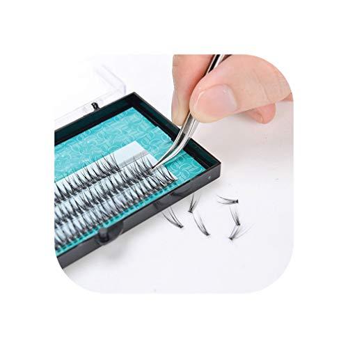 2019 Popular natural fishtail type Fashion dovetail fly eyelash soft mink eyelash extension tool fake eye lash,8mm