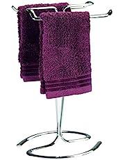InterDesign Axis Towel Holder for Bathroom Vanities