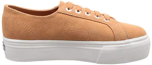 Low Q38 Tropical Trainers top Women's Suew pink Superga Pink 2790 Peach qwHtqU