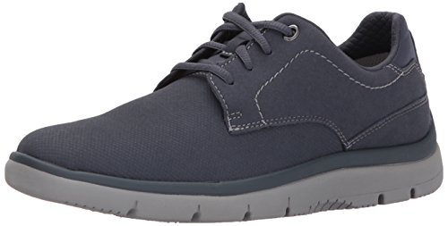 Clarks Mens Tunsil Plain Oxford, Navy, 8 M US