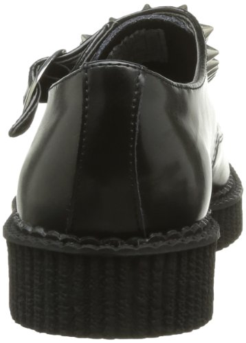 T.U.K. Shoes - Scarpe, Unisex - adulto, Nero (Noir (Black)), 36