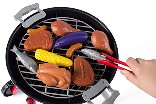 NBD Corp This 8 Piece Backyard Barbeque Get Out 'N Grill Toy Barbeque Grill Set is Great to Have A Realistic Playtime Fun Adventure for Kids and The Whole Family by NBD Corp (Image #1)