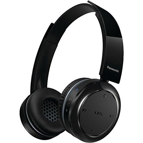 PANASONIC RP-BTD5-K Bluetooth(R) On-Ear Headphones with Microphone PET2