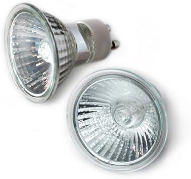 2XGU10-12V-35W ETOPLIGHTING GU10-12V-35W Low Voltage 12 Volt 35 Watt GU10 Lamp 2 pcs 12V 35W GU10 HalogenLight Bulb 2