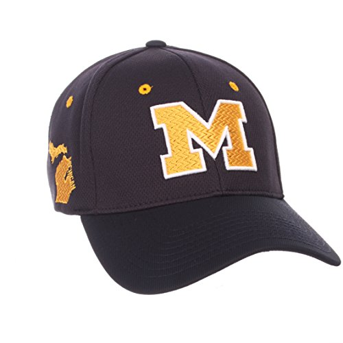 - ZHATS NCAA Michigan Wolverines Men's Rambler Hat, Medium/Large, Team Color