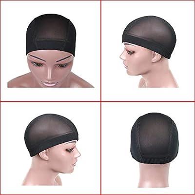 Dome Cap Mesh SpandexStretchableWig Cap for Making Wigs Men Women