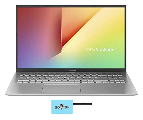 "ASUS Vivobook 15 X512DA Home and Business Laptop (AMD Ryzen 5 3500U 4-Core, 8GB RAM, 512GB PCIe SSD, AMD Vega 8, 15.6"" Full HD (1920x1080), WiFi, Bluetooth, Webcam, 1xUSB 3.1, Win 10 Pro) with Hub"