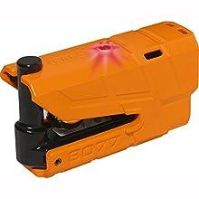 Abus 04301 Antirrobo Disco Moto con Alarma, Naranja, 13Mm