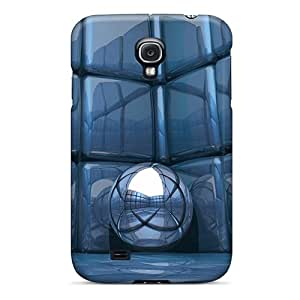 Hot Fashion VTE5185dvhY Design Cases Covers For Galaxy S4 Protective Cases (3d Abstract)