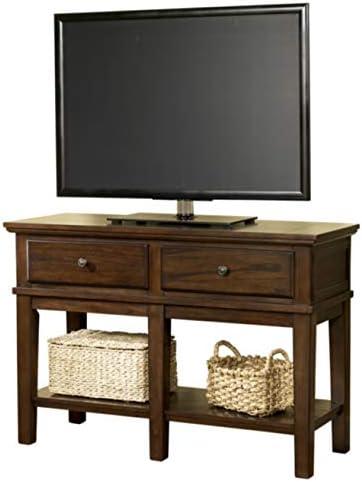 Amazon Com Signature Design By Ashley Gately Console Sofa Table Medium Brown Furniture Decor