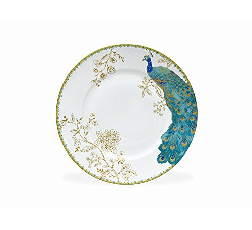 222 Fifth Peacock Garden 16-piece Dinnerware Set, Service for 4 by 222 Fifth (Image #4)