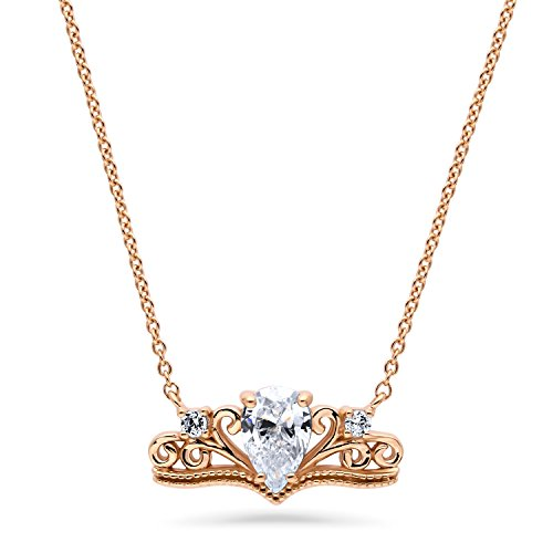 Diamond Accent Crown Necklace - 9