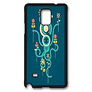 The Gardener Custom Back Phone Case for Samsung Galaxy Note 4 PC Material Black -1210324