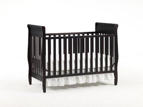 amazon com graco sarah classic convertible crib espresso rh amazon com sarah classic crib assembly Wood Crib