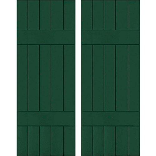 Ekena Millwork RWB18X028CGW Exterior Five Board