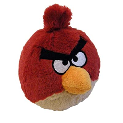 Angry Birds Plush 8-Inch Red Bird with Sound: Toys & Games