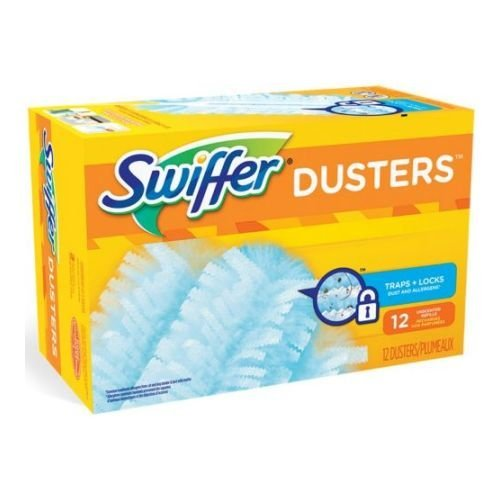 Swiffer Unscented 180 Dusters Refills Only, 10 count per pack - 4 per case.