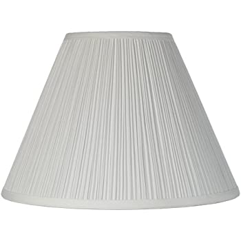 Box pleat lamp shade 7x205x125 spider lampshades amazon brentwood antique white lamp shade 65x15x11 spider aloadofball Images