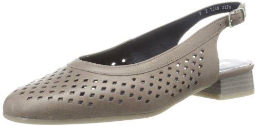 Taupe Womens ara ara Sandal Womens Nappa Bindi2 Slingback SCRqFUw