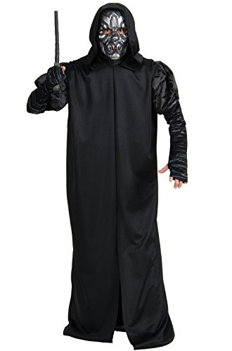 Death Eater Halloween Costumes - Rubie's Costume Co Men's Harry Potter Deathly Hollows Death Eater Adult Costume, Black, One Size