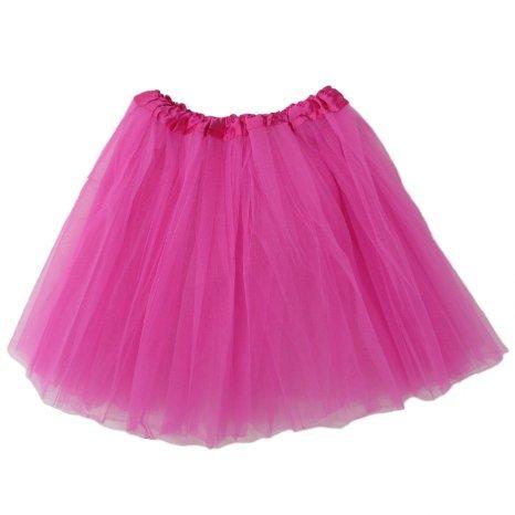 Adult Tutu Assorted Colors (Hot Pink) (Hot Pink)