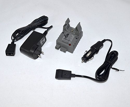 Streamlight Strion Charger Base 74102 + AC Wall Cord + DC Car Cord Combo