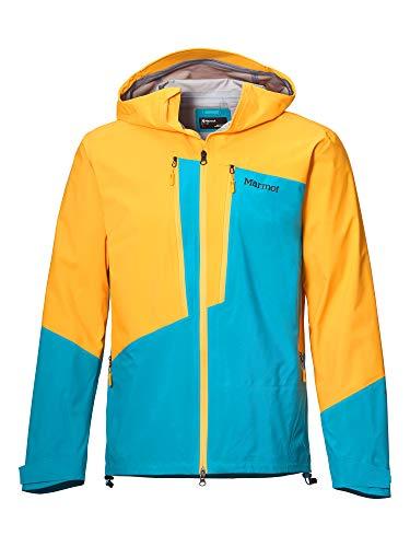 Marmot Herren Huntley Jacket Hardshell Regenjacke, Wasserdicht, Winddicht & Atmungsaktiv