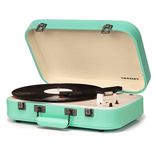 Crosley Coupe Turntable, - Green Record Player