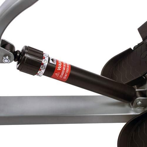 Sunny Health & Fitness SF-RW1205 12 Adjustable Resistance Rowing Machine Rower w/Digital Monitor 11