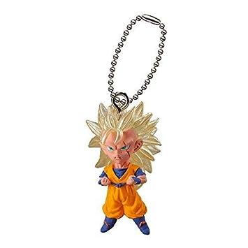 Llavero Dragon Ball Goku Super Saiyan 3 SS3 Bandai 4 cm ...
