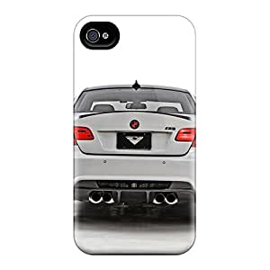 Excellent Iphone 4/4s Case Tpu Cover Back Skin Protector Bmw