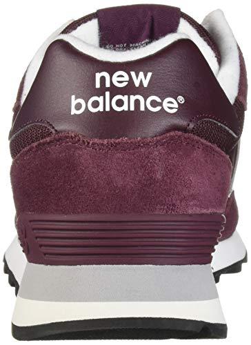 Homme Baskets Maenner Gris Burgundy Pour New us Balance gvfFwwqt