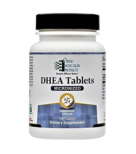 Ortho Molecular DHEA Tablets (Micronized) 5mg - 100 Tablets ()