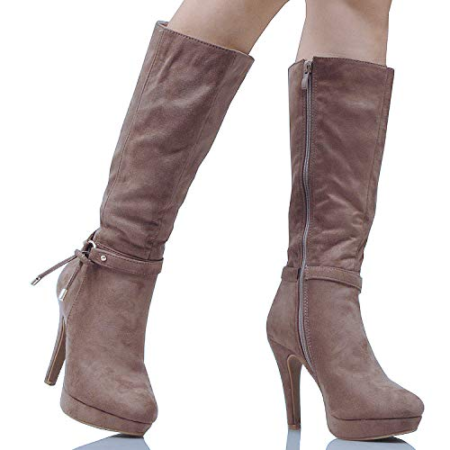 Guilty Heart   Swing-1 Taupe Suede, 7