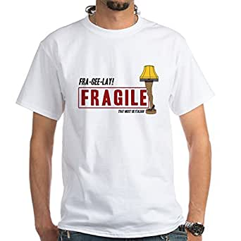 cafepress fragile that must be italian cotton t shirt clothing. Black Bedroom Furniture Sets. Home Design Ideas