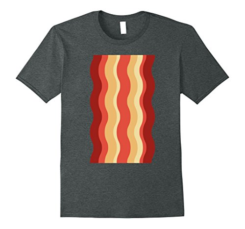 Eggs And Bacon Costume Diy (Mens Bacon Shirt Funny DIY Halloween Costume Ideas Deviled Eggs XL Dark Heather)